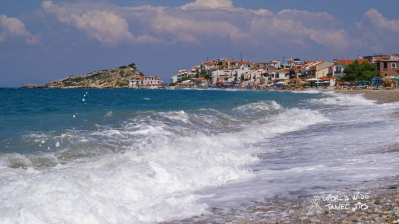 Samos Kokkari Surf Greek Islands in Greece