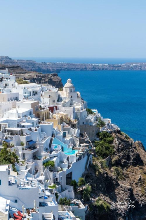 Santorini Beach Greece Red Beach best greek island to visit in June