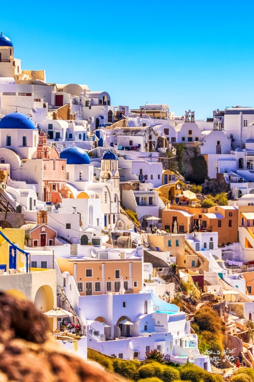 Santorini Greece Best Greek Island in September