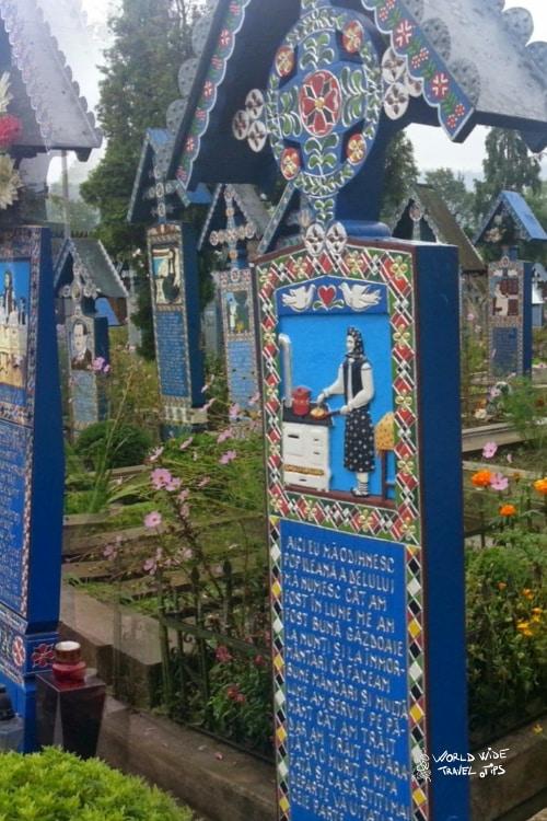 Sapanta the Merry Cemetery in Romania