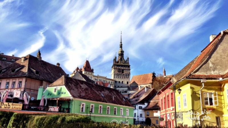 Sighisoara Medieval Town best things to do in Romania