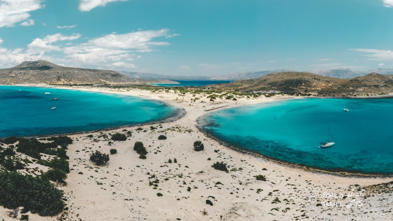 Simos Beach Elafonisos Greek Beaches Greek Islands weather in Spring