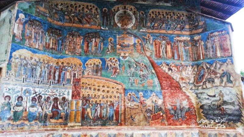 The Painted Monastery in Romania