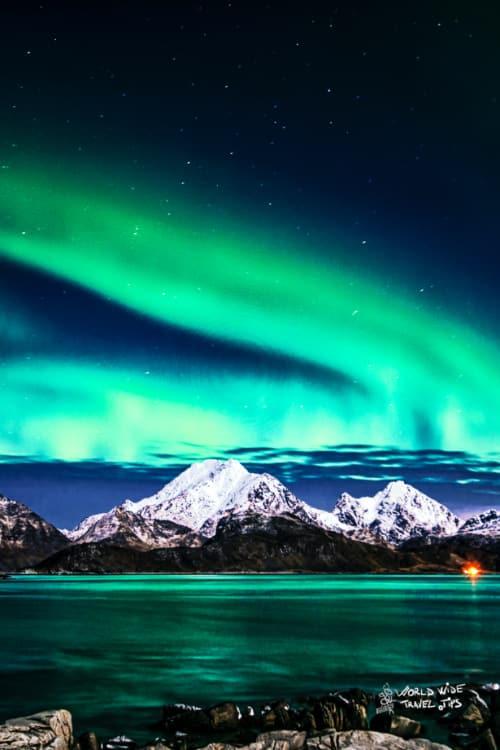 Alaska Northern Lights Aurora Borealis