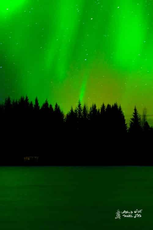 Alaska Northern Lights Green