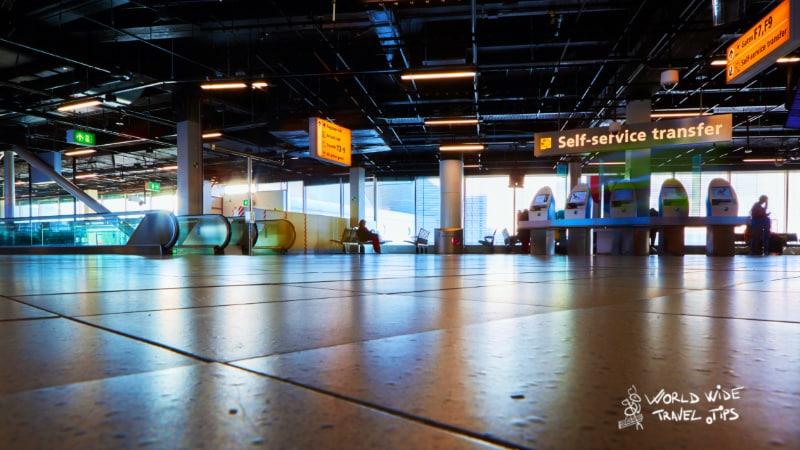 Amsterdam Airport Schiphol Facilities
