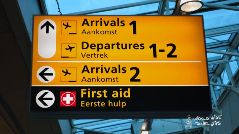 Amsterdam Airport to city Netherlands Arrivals Departures