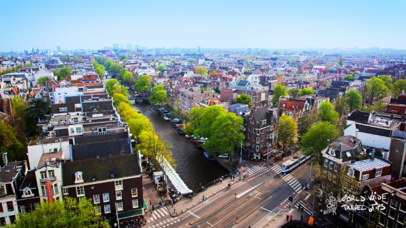 Where is Amsterdam located Netherlands