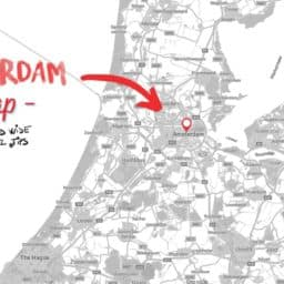 Where is Amsterdam on the map