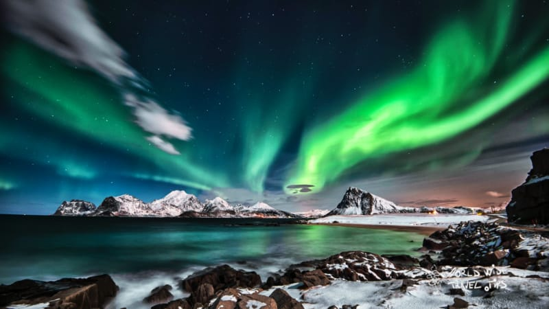 best time to see Northern Lights in Alaska