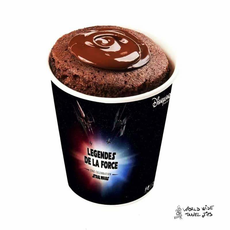 Chocolate mug cake Disneyland Paris