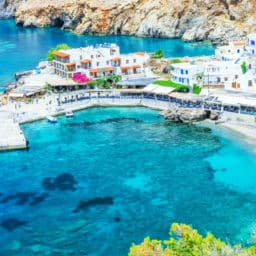 Greek islands for family holidays Crete