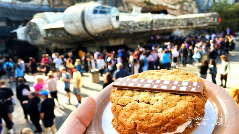 Cookie Wookie Disneyland cookie