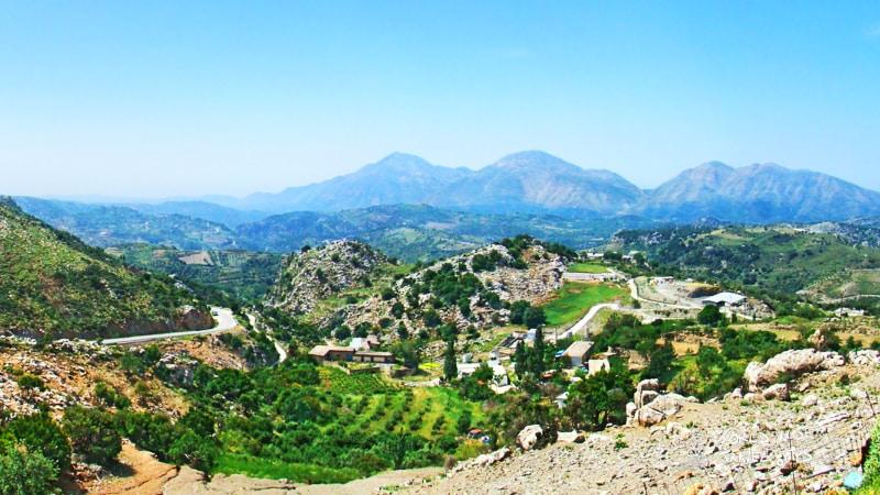 Crete Anogeia Village Greece