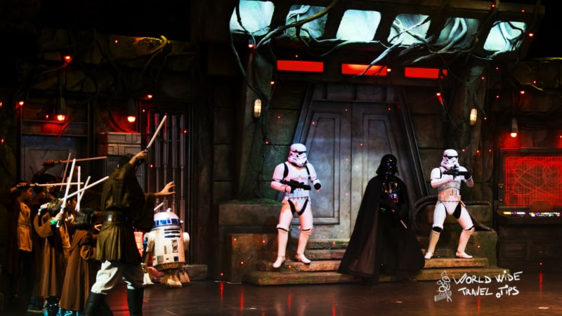 Darth Vader at Disneyland Paris Star Wars