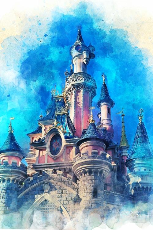Disneyland Paris Castle Sleeping Beauty
