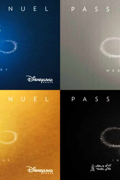 Disneyland Paris Discovery Magic Flex Magic Plus Infinity