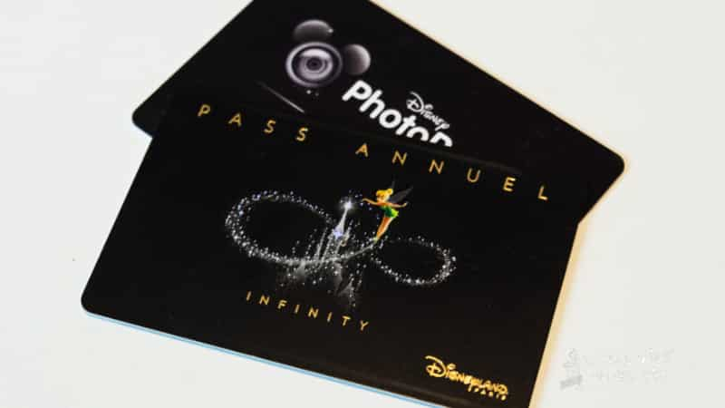 Infinity annual pass for Disneyland Paris