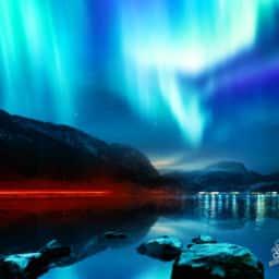 Northern Lights in Alaska Aurora Borealis