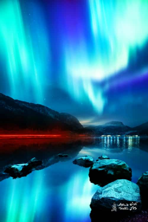 Northern Lights Aurora Borealis in Alaska