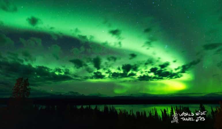 Northern Lights in Alaska in September