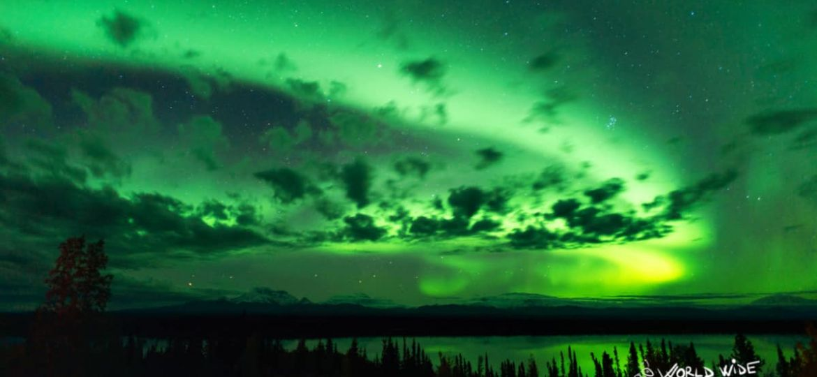 Northern Lights in Alaska in September