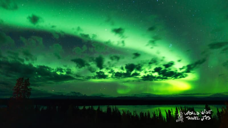 when can you see the Northern Lights in Alaska Aurora Borealis