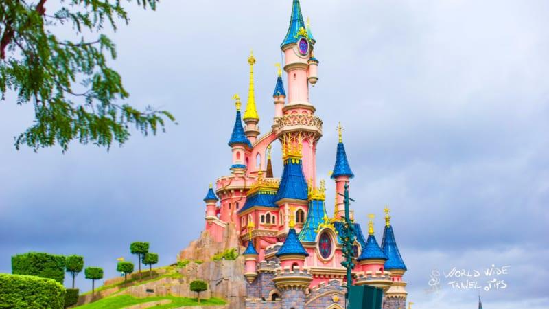 Magic Plus Disneyland Paris annual pass Wonderful magic castle princess at the Disneyland