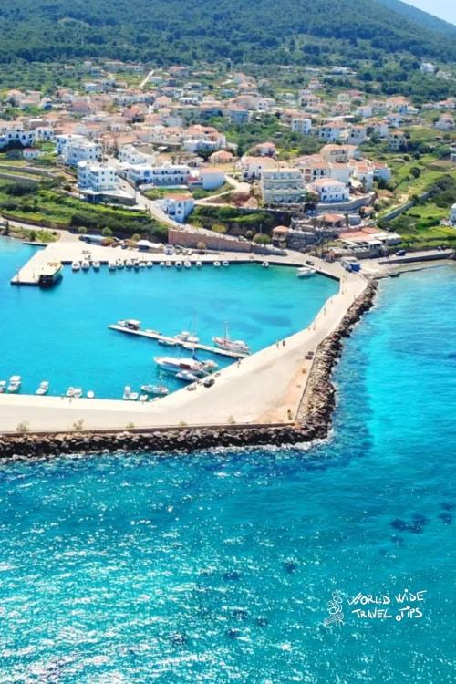 Agistri Greek Islands near Athens Greek Island