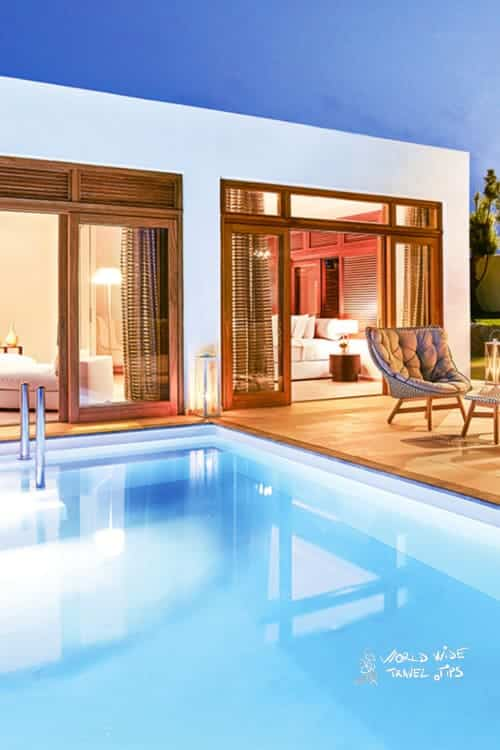 Amirandes Grecotel Crete Amirandes Royal residence private heated pool