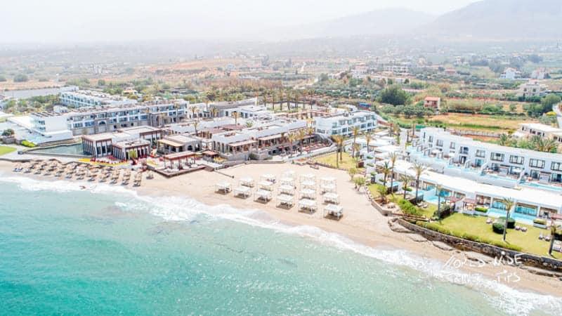 Amirandes Grecotel Crete Beach resort in Crete Greece