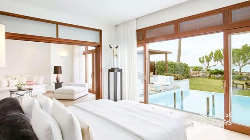 Amirandes Grecotel Crete villa with pool amirandes resort Crete