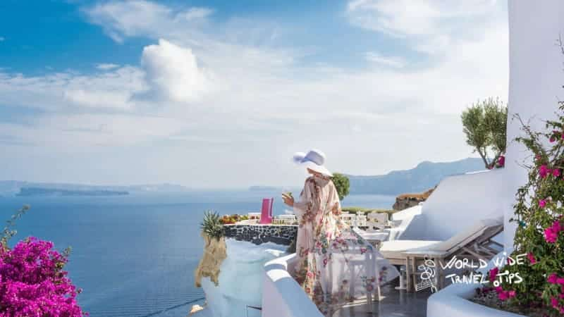 Andronis Suites Luxury Room private Terrace luxury hotels in Greece Santorini