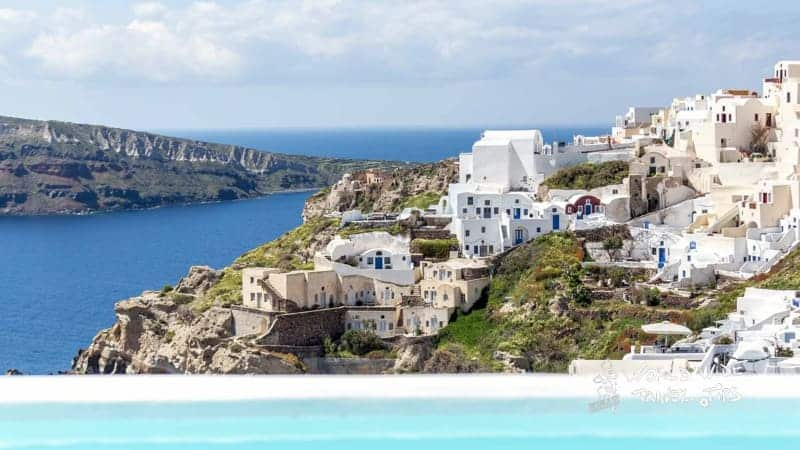 Andronis Suites Luxury landscape view