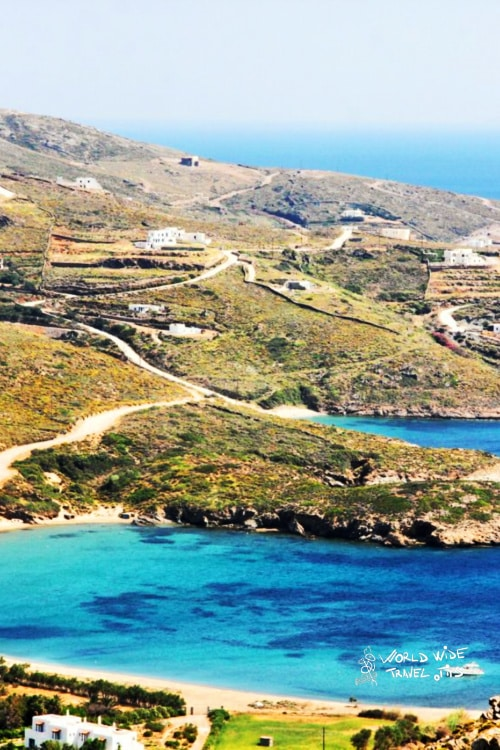 Andros Island Greek Islands near Athens
