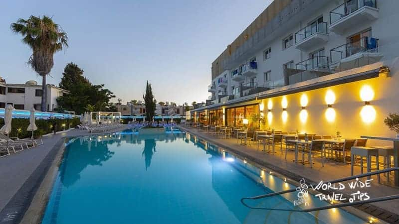 Anemi Hotel and Suites Pool Sunset