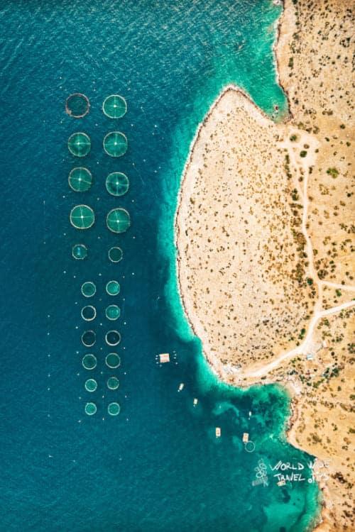 Athinon Souniou Saronikos Greece Anatoliki Attiki Greek Beach