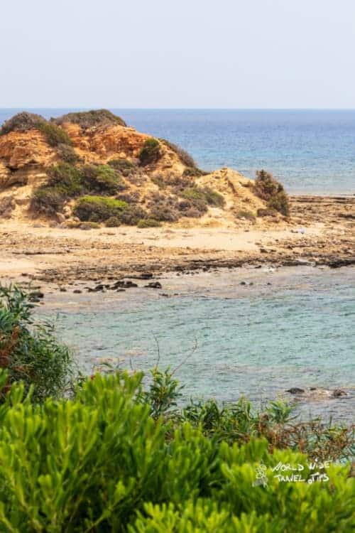 Beach of kiotari on rhodes island greece Weather in Kiotari in May Rhodes
