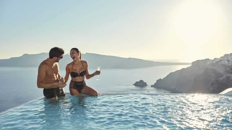 Canaves Oia Suites Infinity Pool Suite