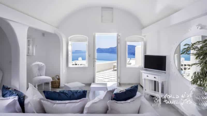 Canaves Oia Suites Infinity Pool suite Room interior