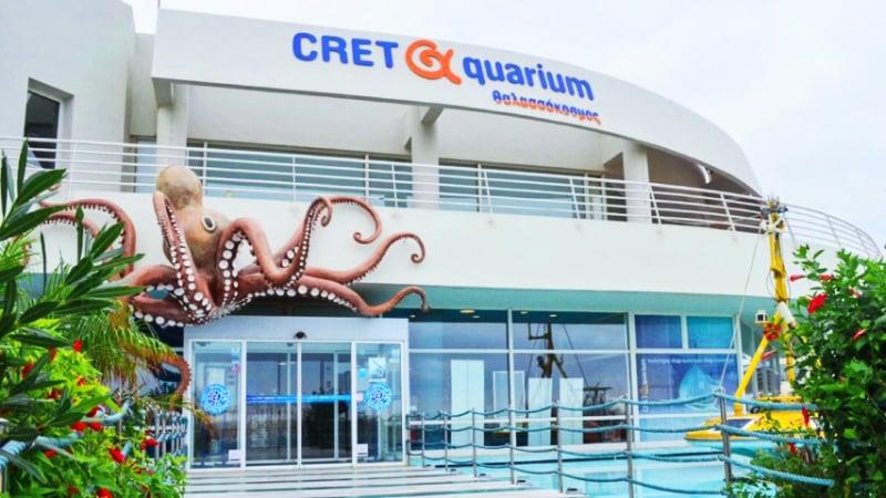 Cretaquarium Crete Greece Aquarium