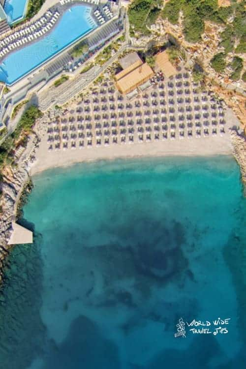 Daios Cove View from above