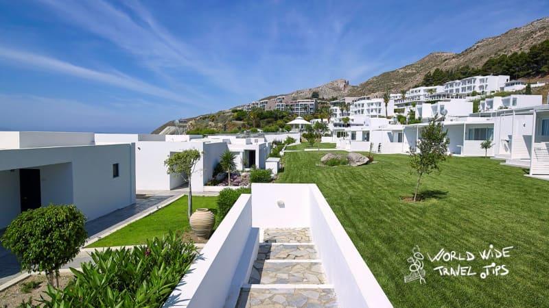 Dimitra Beach Hotel Resort Exterior area