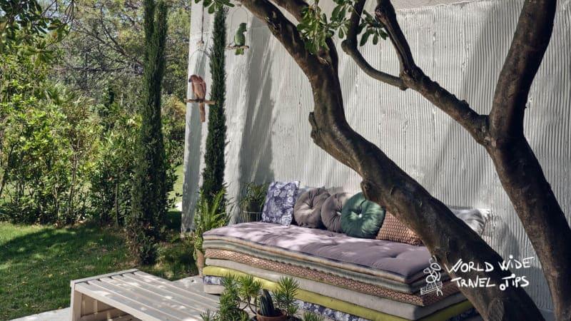Ekies All Senses Resort Garden Relaxing Space Outdoor Living Room