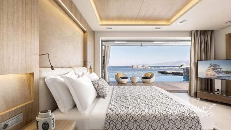 Elounda Beach Hotel Villas Bedroom