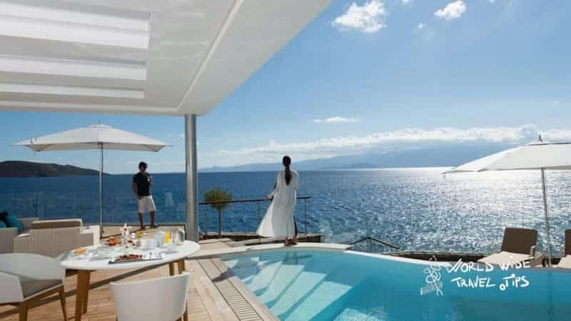 Elounda Beach Hotel Villas Pool view