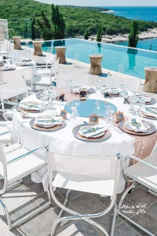 Emelisse Nature Resort Restaurant Terrace Pool side