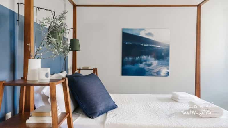 Emelisse Nature Resort Room bed