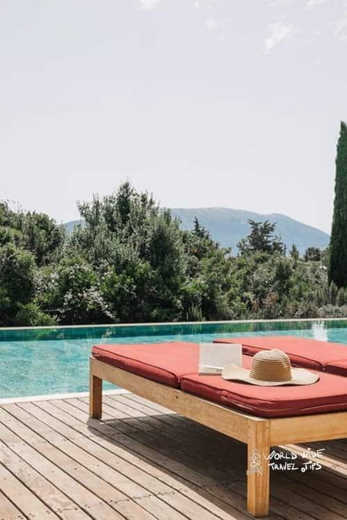 Emelisse Nature Resort Sunbeds Pool