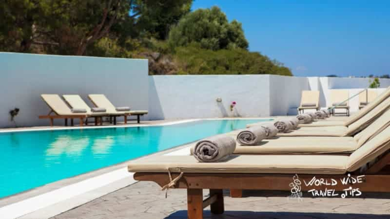 Esperos Village Blue and Spa Exclusive sea view room with sharing pool